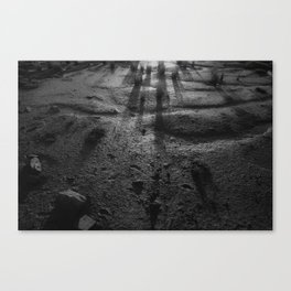 Sombra marinera Canvas Print