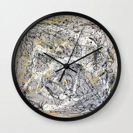 Hopeful Isolation Wall Clock