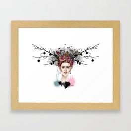 The Little Deer - Frida Kahlo Framed Art Print