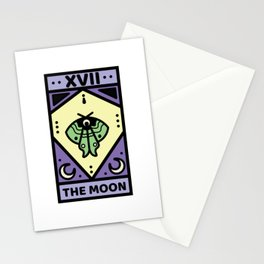 The Moon Pastel Tarot Card Stationery Cards