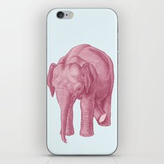 Pink elephants and the emperor of icecream iPhone & iPod Skin