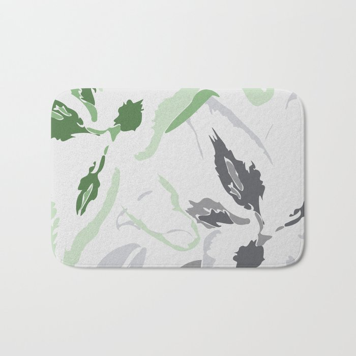 FLORAL ABSTRACTION 2 Bath Mat