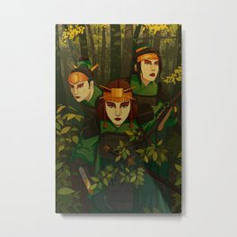 Kyoshi Warriors Metal Print