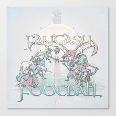 Fantasy Football Canvas Print