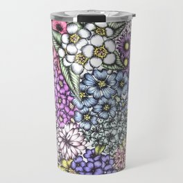 A Bevy of Blossoms Travel Mug