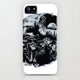 Old World Monkeys iPhone Case