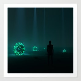 There were more in the meadows Art Print