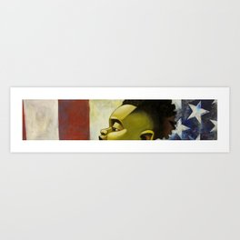 my america too Art Print