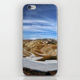 Landmannalaugar, Iceland iPhone Skin