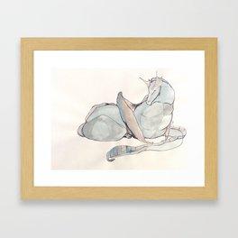 Napper Framed Art Print