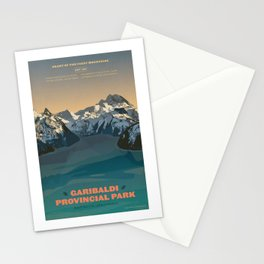 Garibaldi Park Poster Stationery Cards