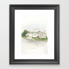 001. Framed Art Print
