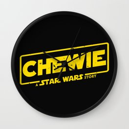 Chewie Story Wall Clock