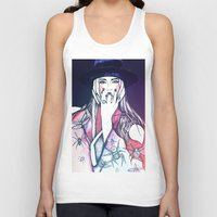 insects Tank Tops featuring Red insects by The Prophet A