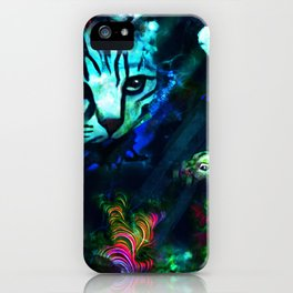 Bad Kitty iPhone Case