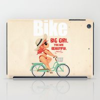 bike iPad Cases featuring BIKE by melivillosa