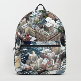 skyscrapers ballerina Backpack