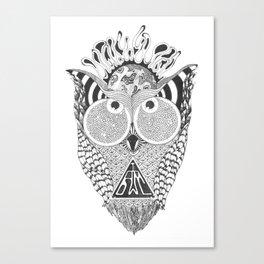 I am Owl Canvas Print