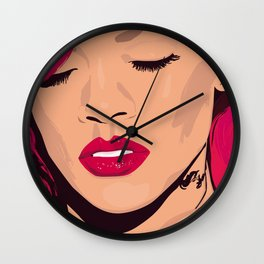 Rihanna - Portrait Wall Clock