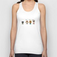 video game Tank Tops featuring Video game by Miguel Ordonez