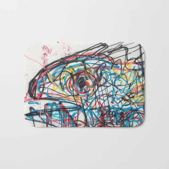 Eye 2 colour Bath Mat