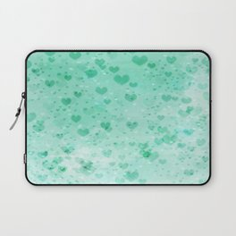A Sea Of Floating Hearts Laptop Sleeve