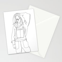 Fashion illustration drawing - Caley Stationery Cards