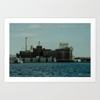 baltimore Art Prints featuring Baltimore by Reggie Thomas Photos