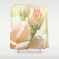 Gentle Roses Shower Curtain
