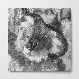 AnimalArtBW_Koala_20170602_by_JAMColorsSpecial Metal Print
