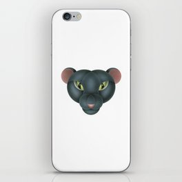 Compasses-panther iPhone Skin