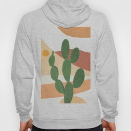 Abstract Cactus II Hoody