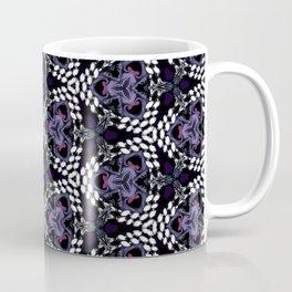 Purple silver medieval chain jewellery Coffee Mug