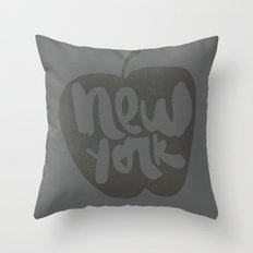 NY: The Big Apple Throw Pillow