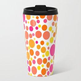 Colorful Bubble Party 1 Travel Mug