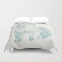 blue, Love Duvet Cover