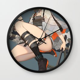 Arknights Ifrit Wall Clock