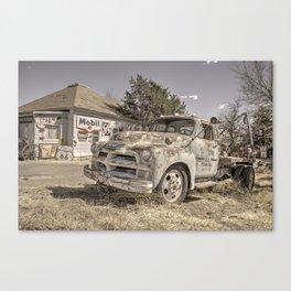 Tucumcari Tow Truck  Canvas Print