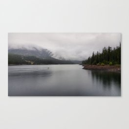 Rainy Hyalite Afternoon Canvas Print