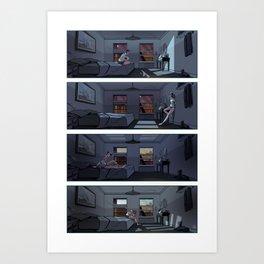 Midnight Radio - Room Art Print