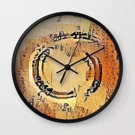 Enso Calligraphy Wall Clock