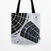 milan Tote Bags featuring Milan 2 by Alev Takil