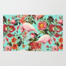 Floral and Flemingo IV Pattern Rug
