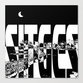 Sitges Canvas Print