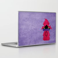skeletor Laptop & iPad Skins featuring A Boy - Orko by Christophe Chiozzi