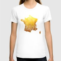 france T-shirts featuring France by Stephanie Wittenburg