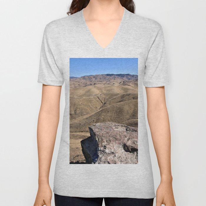 Cliffland Unisex V-Neck