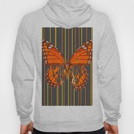 OLD WORN DESICCATED BUTTERFLY PATTERN ART Hoody