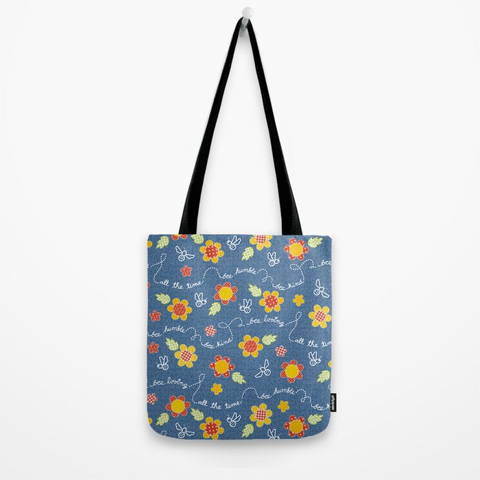 Bee Message - Spring sun Tote Bag