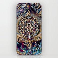 Gayatri - Creation Om Time iPhone & iPod Skin